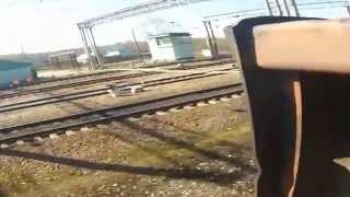 getlinkyoutube.com-Запал на станции Куровская.