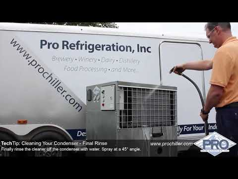 Pro Refrigeration Tech Tip: Cleaning Condenser Coil