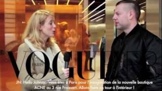 getlinkyoutube.com-Visite guidée de la nouvelle boutique Acne par Jonny Johansson