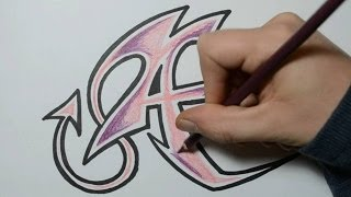 getlinkyoutube.com-How to Draw Wild Graffiti Letters - A