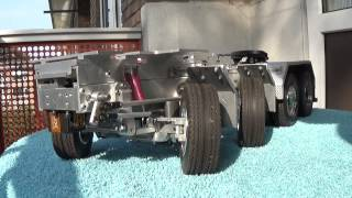 getlinkyoutube.com-Super RC Truck Tamiya scale Volvo FH12  (Complete home made chassis)