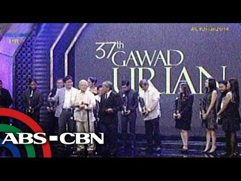 Indie films win big at 37th Gawad Urian