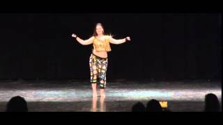 getlinkyoutube.com-Happy 17th! Sienna Alhambra Night 2015  Shaabi Style - Bellydance USA