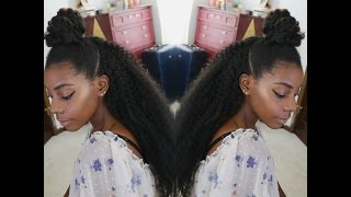 CROCHET HAIRSTYLE IN TWO HOURS