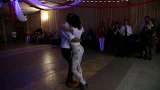 getlinkyoutube.com-Kizomba mini performance from Max Kumashev & Helen Medvedeva @ Kizomba-mania 2013.04.27