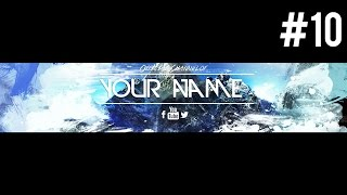 getlinkyoutube.com-Insane Free Youtube Banner Template (PSD) 2015 #10