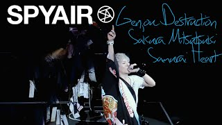 getlinkyoutube.com-SPYAIR - 現状ディストラクション, サクラミツツキ, サムライハート (Some Like it Hot!!) LIVE