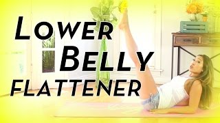 getlinkyoutube.com-Lower Belly Flattener | POP Pilates