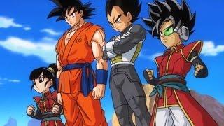 getlinkyoutube.com-Dragon Ball Heroes - Fukkatsu No F & Super Saiyan 4 Movie Cutscenes