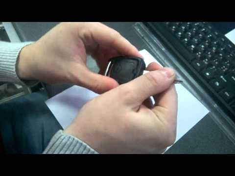 Opel Astra G Замена батарейки ключа