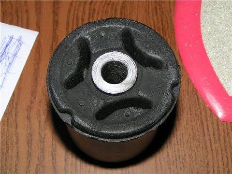 Замена задних сайлентблоков opel vectra a /kadett/daewoo lanos