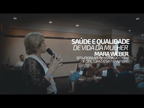 Saúde e qualidade de vida da Mulher - palestra de Mara Weber