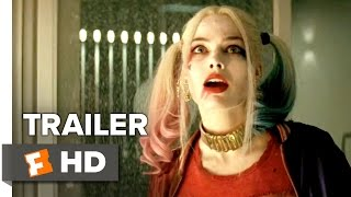 getlinkyoutube.com-Suicide Squad Official Trailer #1 (2016) - Jared Leto, Margot Robbie Movie HD