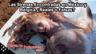 getlinkyoutube.com-Las Sirenas Encontradas en México y Bélgica ¿Reales o Falsas? - Proyecto Paranormal México