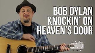 getlinkyoutube.com-Knocking on Heaven's Door - Super Easy Acoustic Songs for Guitar - Guitar Lesson