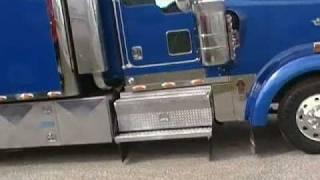 "getlinkyoutube.com-Explore a Classic BIG Truck Beauty: 102"" Custom Sleeper Kenworth W900L"