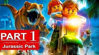 getlinkyoutube.com-Lego Jurassic World Gameplay Walkthrough Part 1 [1080p HD] Jurassic Park 1 - No Commentary