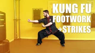 getlinkyoutube.com-Choy Li Fut Kung Fu - Basic Strikes + Choy Li Fut Footwork