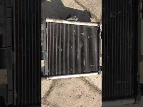 Радиатор на Smart Fortwo 2011 год