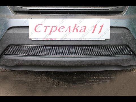 Защита радиатора PREMIUM HYUNDAI CRETA 2016-н.в. (Черный) - strelka11.ru