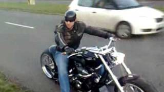 getlinkyoutube.com-Yamaha Roadstar 1700 Dracula build 2007.MCCYCLES Slovakia Lučenec.