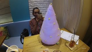 getlinkyoutube.com-Jakarta Cafe Street Food 1008 Part.4 Snow Galaxy Shirokuma Cafe Es KrimPohonNatal 5859