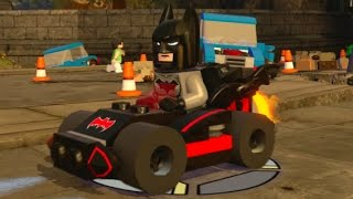 LEGO Dimensions - Batmobile Fully Upgraded - All 3 Versions (Vehicle Showcase)