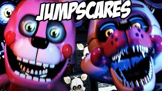 getlinkyoutube.com-ALL NEW ANIMATRONIC JUMPSCARES! | Five Nights at Freddys Sister Location CUSTOM NIGHT JUMPSCARES!