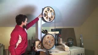getlinkyoutube.com-Самодельная деревянная ленточная пила. Обзор. Часть 1