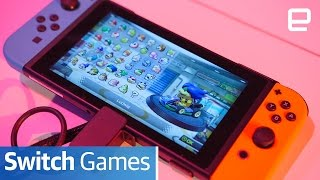 getlinkyoutube.com-Nintendo Switch Games: Hands-on