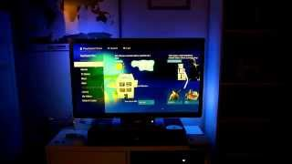 getlinkyoutube.com-PS4 with Raspberry Pi LED Ambilight Setup, running in Real Time