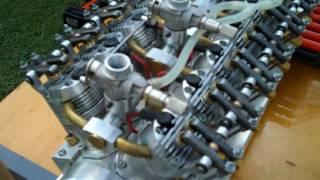 getlinkyoutube.com-Model V-12 Engine Runs