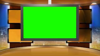 getlinkyoutube.com-studio background set in green screen free stock footage