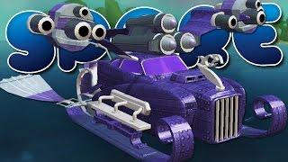 getlinkyoutube.com-THE AQUATIC PIMP-MOBILE! - SPORE Gameplay Ep 12 (Civilization Stage)