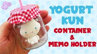 getlinkyoutube.com-Yogurt Kun Container and Memo Holder Tutorial