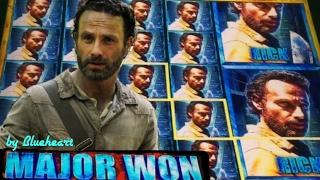 getlinkyoutube.com-★ RICK DELIVERS! MAJOR JACKPOT ★  THE WALKING DEAD 2 slot machine SUPER BIG WINS!