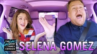 getlinkyoutube.com-Selena Gomez Carpool Karaoke