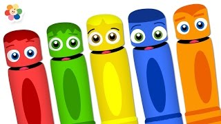 Learn Colors For Toddlers | Colors For Kids With Color Crew | Videos For Kids By Baby First TV