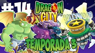 getlinkyoutube.com-Dragon City T3 - Capitulo 14 - Dragon rabioso, cosmos y Isla Hollywood