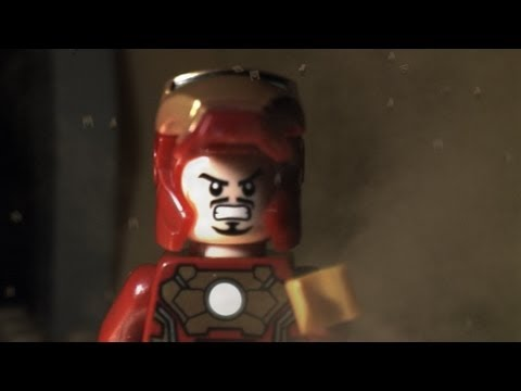 Lego Iron Man 3 Trailer #2