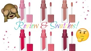 getlinkyoutube.com-ESSENCE  Liquid Lipstick - Review & Swatches!