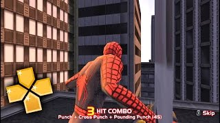 getlinkyoutube.com-Spider-Man 2 PPSSPP Gameplay Full HD / 60FPS