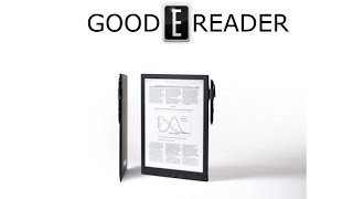 "getlinkyoutube.com-Sony 13"" (DPT-S1) Digital Paper: All menus explored"