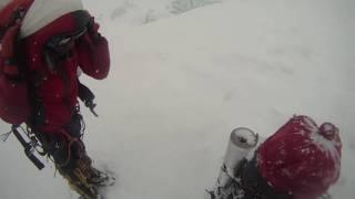 getlinkyoutube.com-DEATH ZONE: Cleaning Mount Everest (Abandoned Backpack)