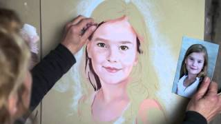 getlinkyoutube.com-How to paint a Pastel Portrait