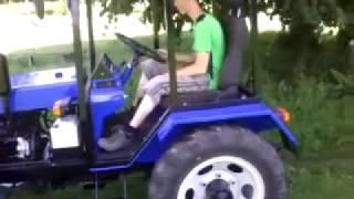 getlinkyoutube.com-Мій саморобний міні-трактор.