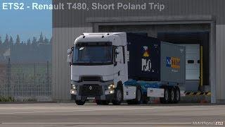 [ETS2] Renault T480, Short Poland Trip