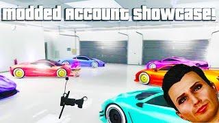 getlinkyoutube.com-GTA 5 Online - NEW MODDED ACCOUNT SHOWCASE (Modded Cars & Modded Colors) [GTA V] 1.28