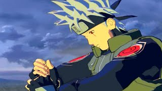 "getlinkyoutube.com-Naruto Storm Revolution - Kakashi ""Without Mask"" Mod"
