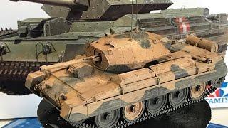 getlinkyoutube.com-Building the Tamiya 1/35 Crusader Mk III  Cruiser tank